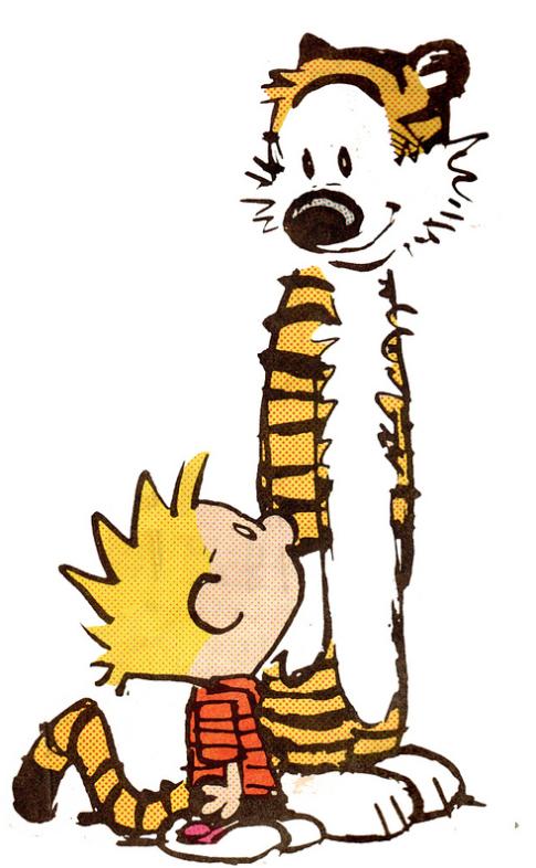 Calvin And Hobbies An Iconic Comic Pair Calvin And Hobbes Tattoo Calvin And Hobbes Wallpaper Calvin And Hobbes Comics