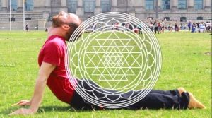 Yoga trial lessons in the parc in Berlin