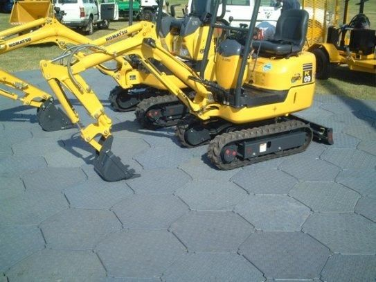 Pro-TrackⓇ flooring is a superior portable roadway solution, tough enough to withstand high impact from vehicle, machinaries and heavy equipments. http://goo.gl/9kXbu5