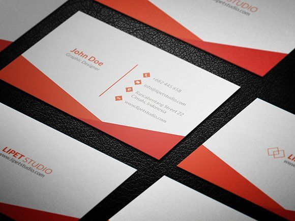 Sync Simple Business Card Template With Images Business Card
