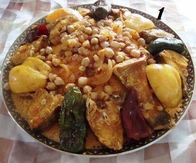 Couscous poisson tunisie cuisine recette de cuisine - Cuisine tunisienne poisson ...
