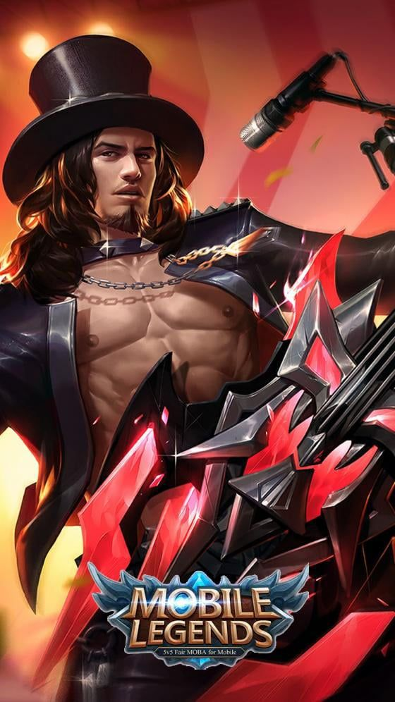 260 Wallpaper Mobile Legends Hd Terbaru 2018 Terlengkap Rock And Roll Animasi Gambar