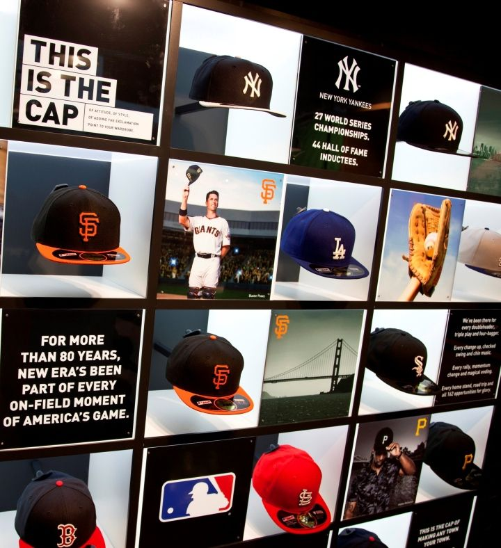New Era Store by Checkland Kindleysides at Westfield Stratford ... 93ddd9080e