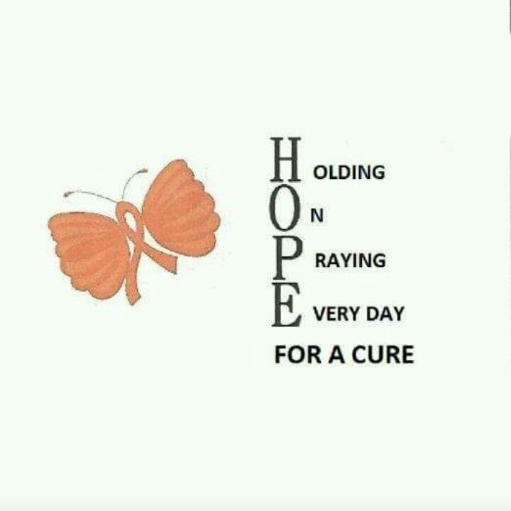 For a cure