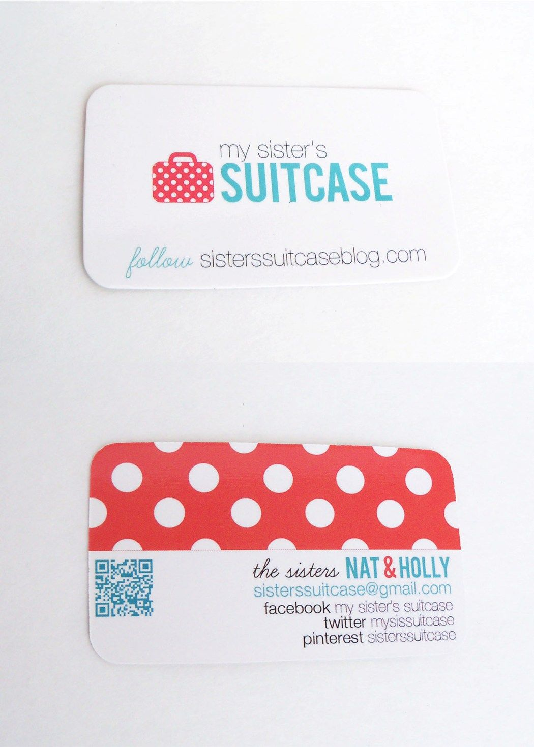 My Sister\'s Suitcase: Fancy New UPrinting Business Cards <3 ...