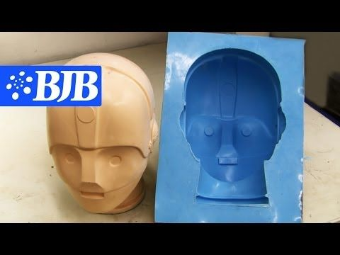How to: Silicone Mold & casting Flexible Foam - YouTube