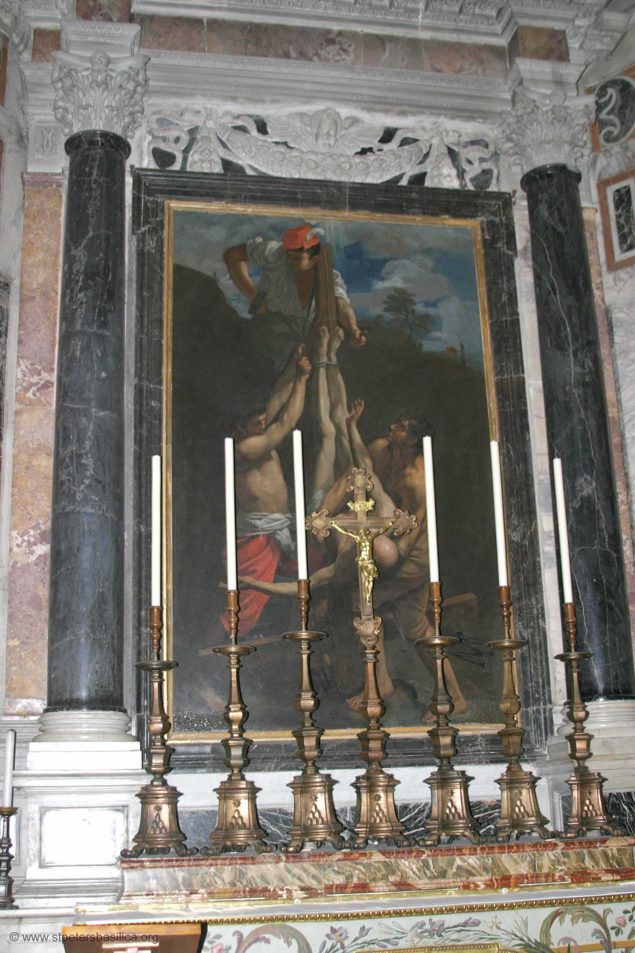 St. Peter's Altar of Crucifixion of St Peter Church