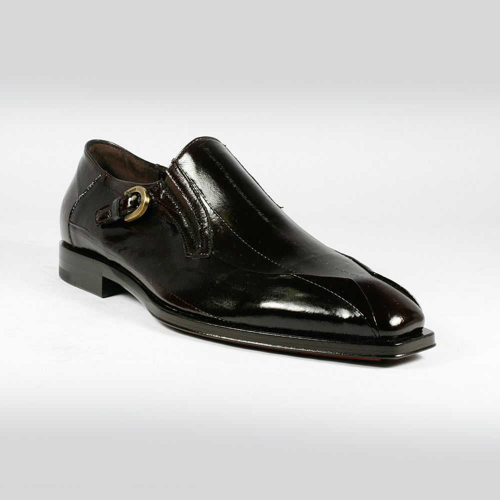 56cfc297fae Outer Sole  Leather with Rubber Cushion Comes with original box and dustba. Cesare  Paciotti Men Shoes Eel Glass Fondente Brown Loafers ...