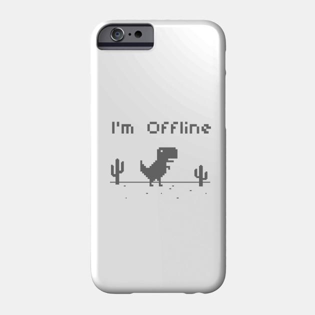 I'm Offline Google Chrome (TRex) Game Google Phone