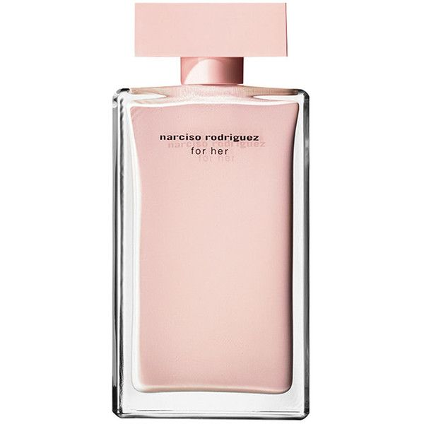 Narciso Rodriguez 'For Her' Eau de Parfum (4,620 PHP) ❤ liked on Polyvore featuring beauty products, fragrance, perfume, makeup, accessories, beauty, pink, no color, flower fragrance and perfume fragrances