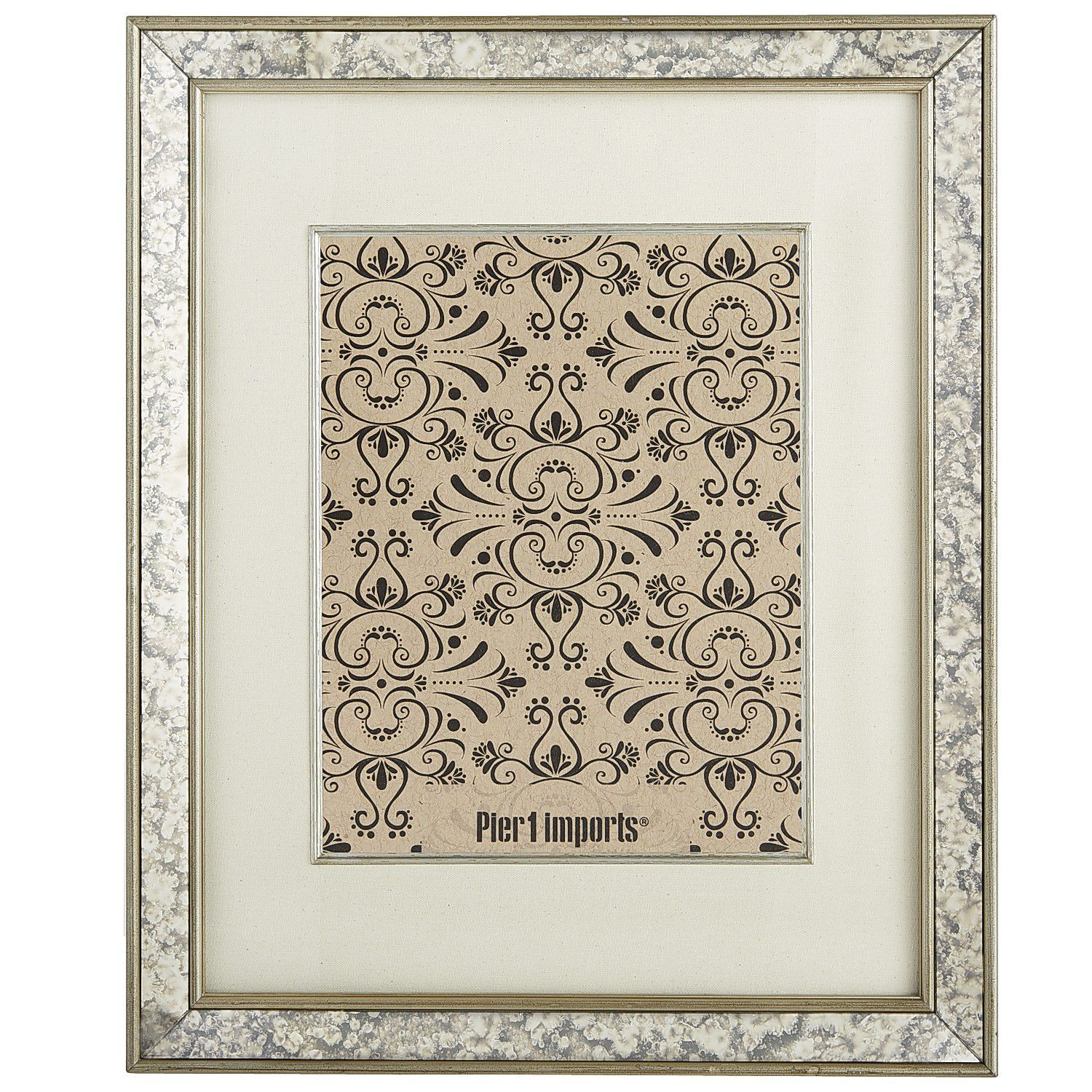 Antiqued mirror wall frame 11x14 decor picture frames antiqued mirror wall frame 11x14 jeuxipadfo Image collections