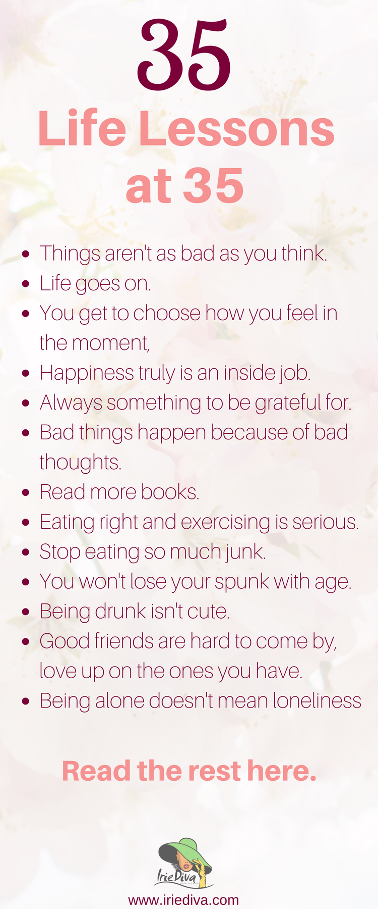 35 Life Lessons At 35 When Do We Actually Figure This Sh T Out