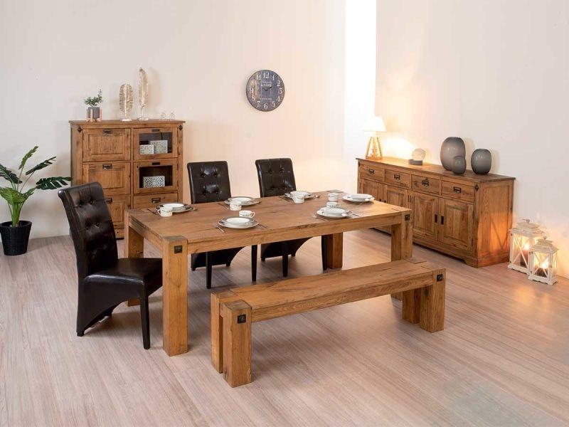 Tisch Travers 100x200x77cm Vente De Esstisch Conforama Sofas Wohnzimmer Haus Deko Esstisch