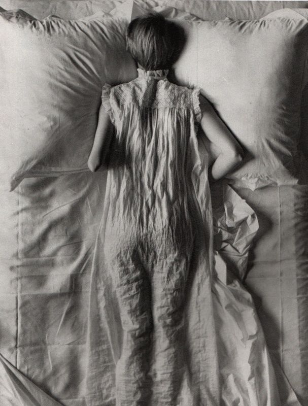 IRVING PENN  Margaret Atwood Variation on the Word Sleep