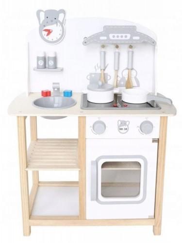 Drewniana Kuchnia Z Dodatkami Dla Dzieci Wooden Toys Home Decor Decor