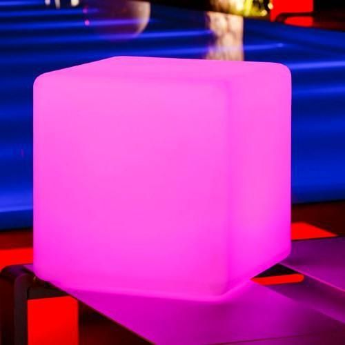 Glow Cubes You Sit On | Glow Cube Furniture :: Great Things To Buy