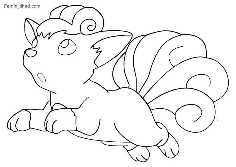 Printable Pokemon Vulpix Coloring Pages Free Coloring Sheets Pokemon Coloring Sheets Pokemon Coloring Cartoon Coloring Pages