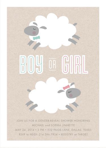 Baby Shower Invitations   Little Lamb By Susan Asbill