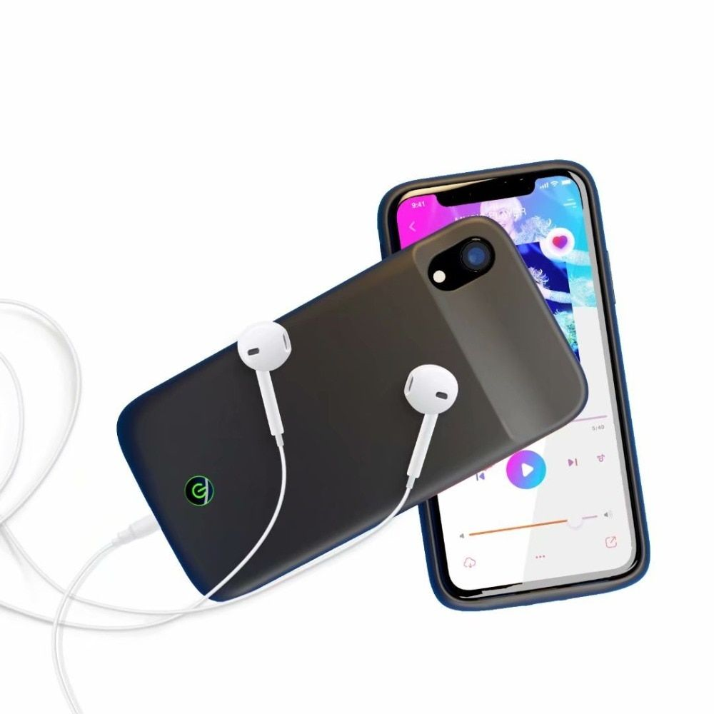 5500mah battery charger case for iphone xr with