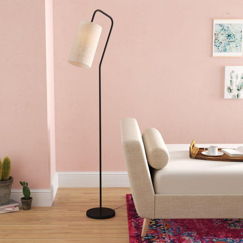Coalville 65 Arched Floor Lamp Arched Floor Lamp Column Floor Lamp Lamp