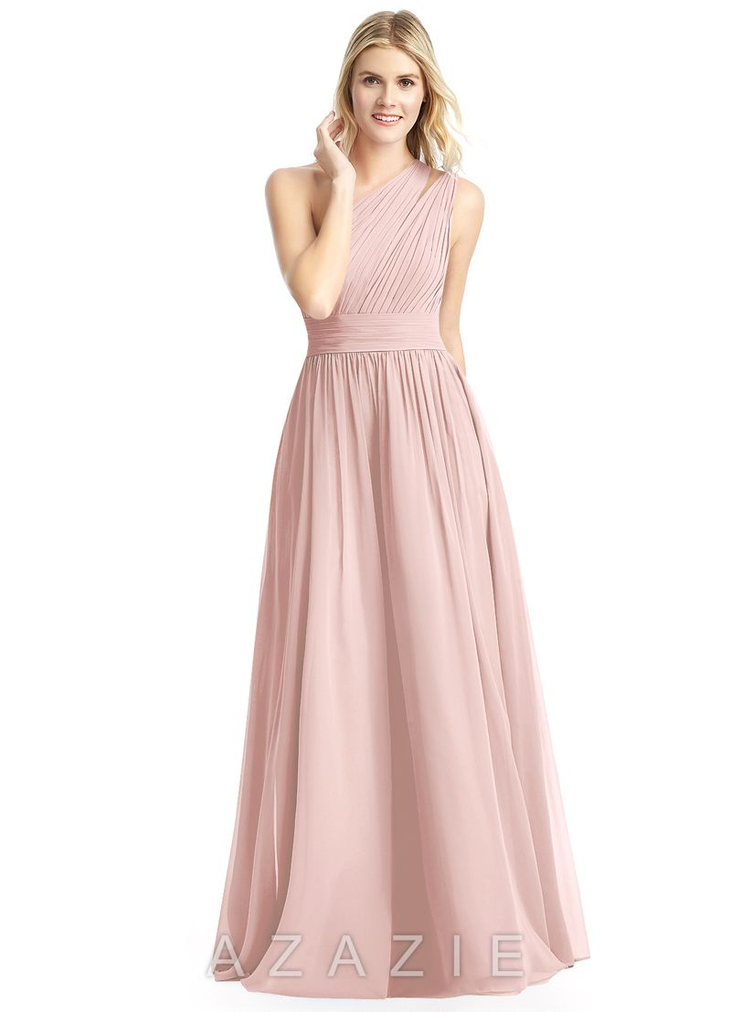 Shop azazie bridesmaid dress molly in chiffon find the perfect