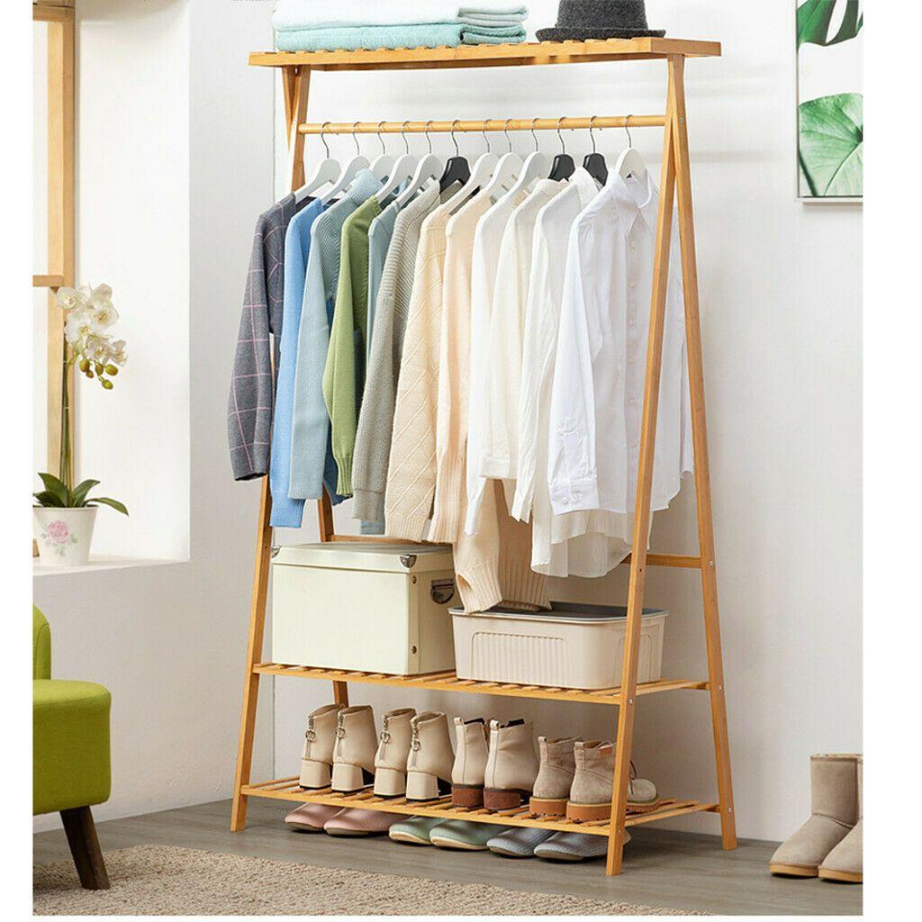 Closet System Storage Organizer Garment Rack Clothes Hanger Dry Shelf Heavy Duty Closet Organizers Ideas Shelf Clothing Rack Garment Racks Clothes Shelves
