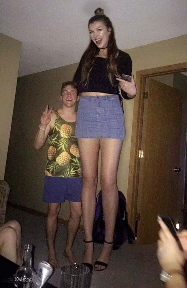 Tall Girl With Super Long Legs By Lowerrider  Pics  Tall -7819