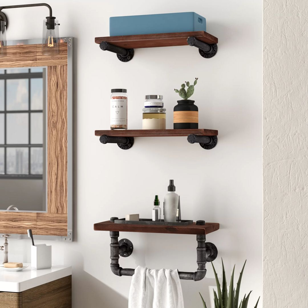 18++ Industrial wall mounted bathroom cabinet type