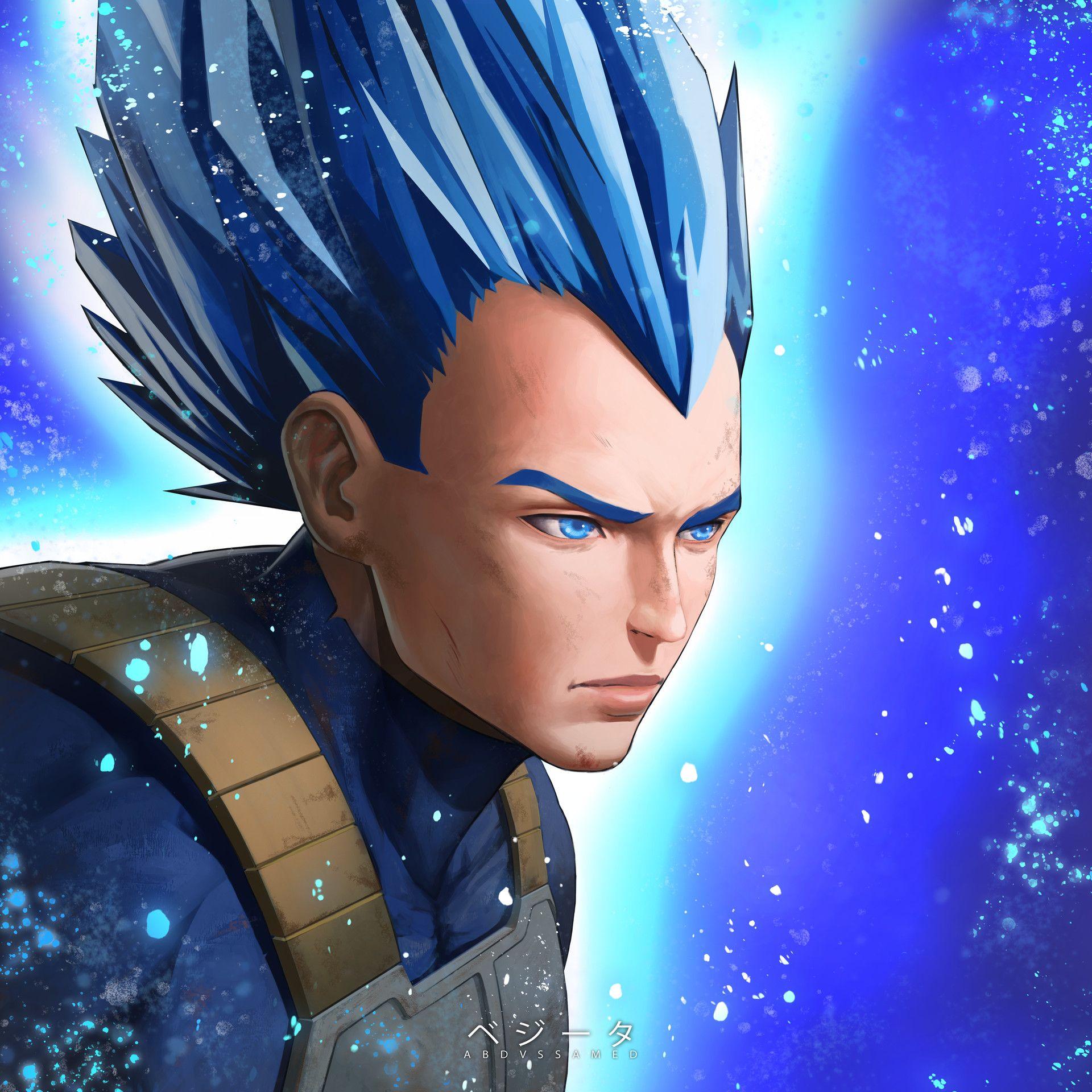 Artstation Vegeta Fan Art Abdussamed Yildirim Anime Dragon Ball Fan Art Vegeta