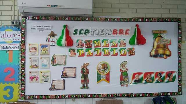Septiembre 2015 periodicos murales pinterest for Diario mural fiestas patrias chile