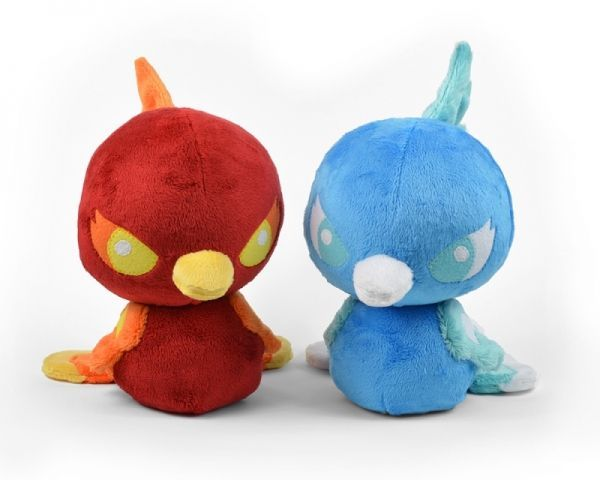 Baby Phoenix Plush Sewing Pattern | Stuffed Animal Patterns | Pinterest