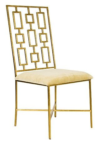 David Dining Chair with Velvet Seat - Complete Pad ®