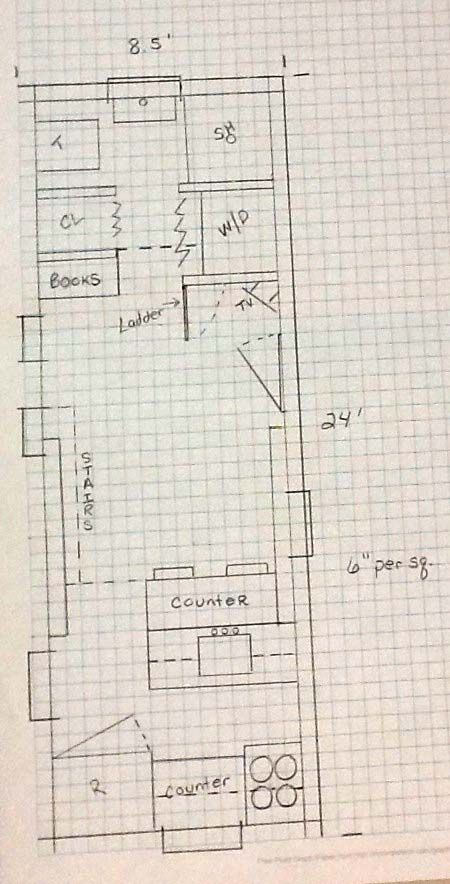 to design your own tiny house all you need is a pad of graph paper make each square a quarter foot or 1 foot and design away