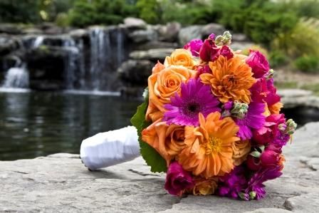 Orange And Purple Wedding Colors Weddingbee Boards