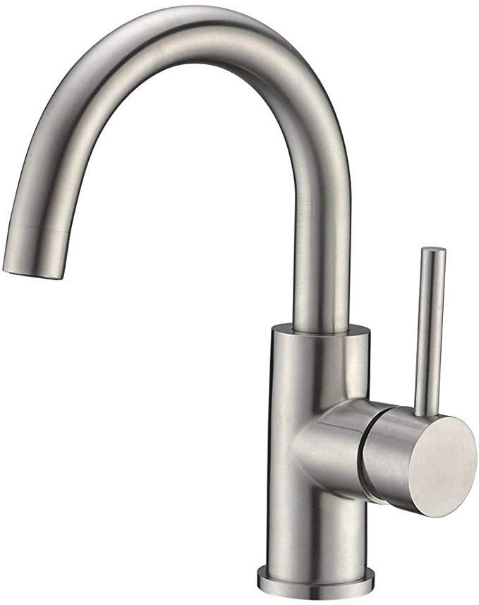 Bar Sink Faucet Crea Stainless Steel Farmhouse Bathroom Lavatory
