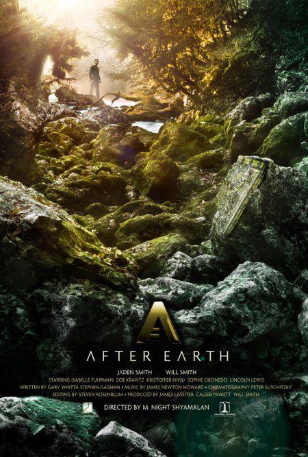 Primer Trailer De La Pelicula After Earth Cinemascomics Com Carteles De Cine Despues De La Tierra Cine De Terror