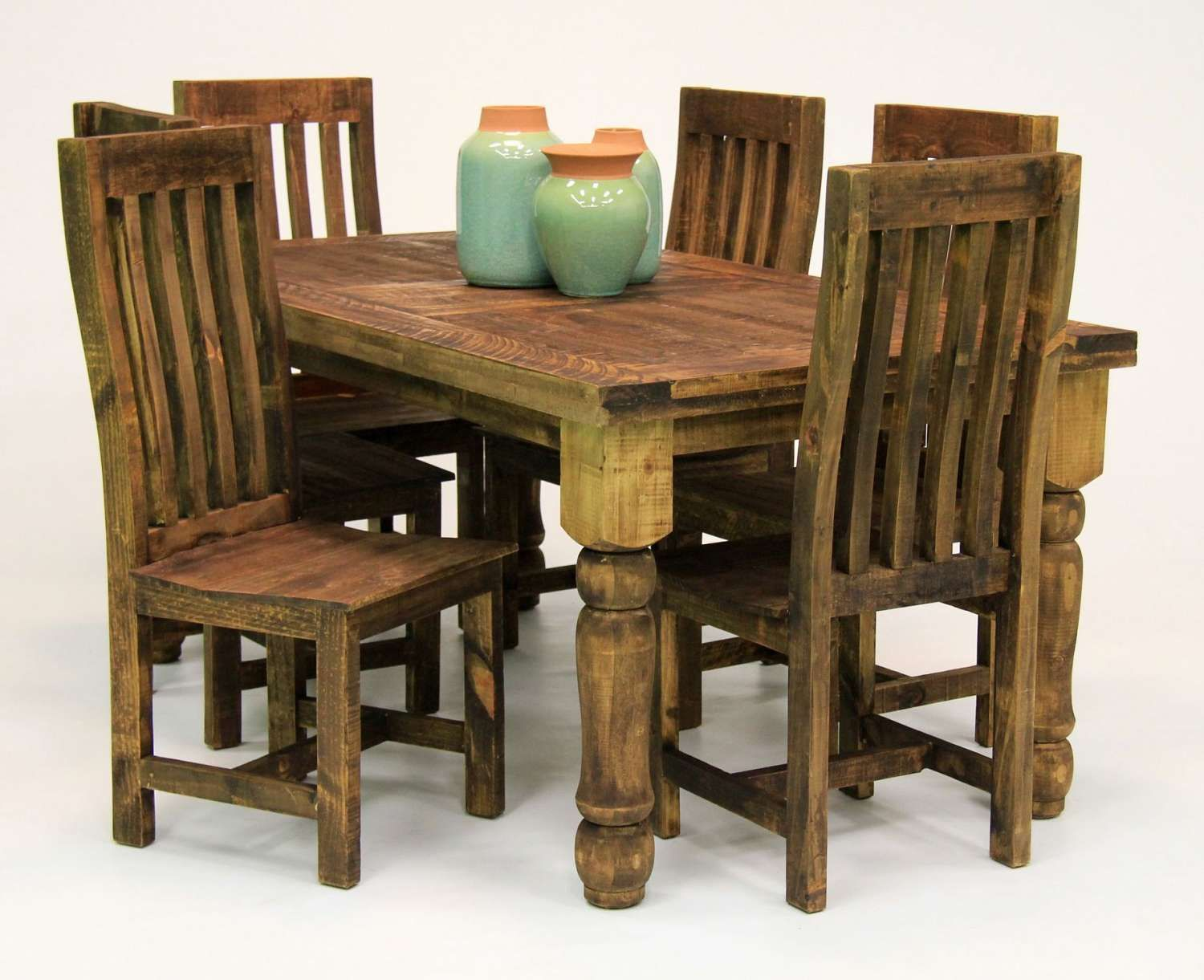 Admirable 5 Piece Rustic Dining Set Ffo Home New Arrivals Rustic Andrewgaddart Wooden Chair Designs For Living Room Andrewgaddartcom