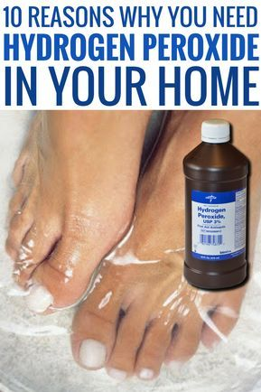 10 Reasons Why You Need Hydrogen Peroxide In Your Home  DIY HacksCrafts