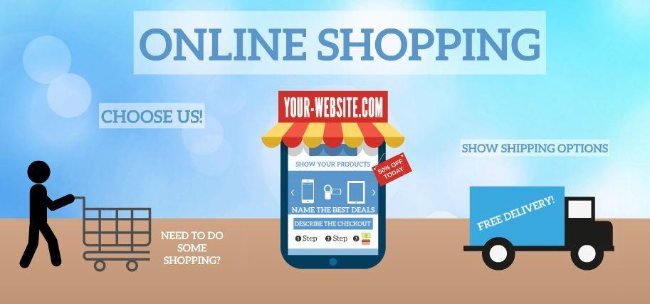 online shopping presentation template sharetemplates