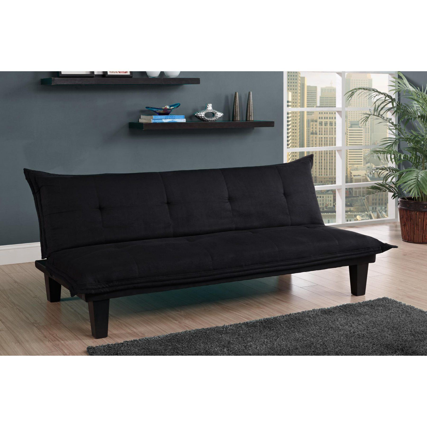 Dhp Lodge Futon Charcoal 2038419 Products