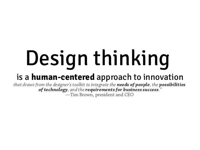 Image result for design thinking definition
