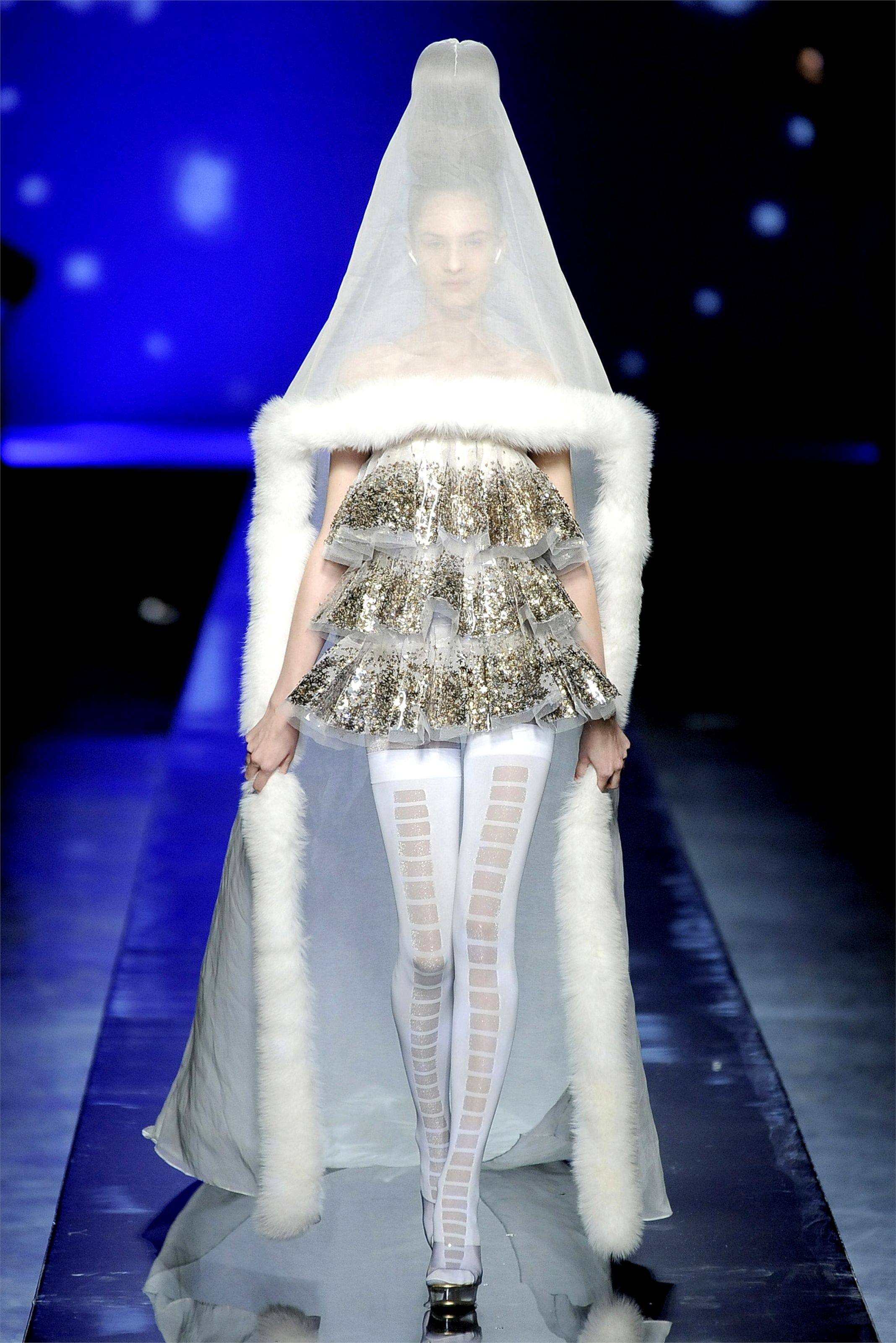 Bad wedding dresses  Jean Paul Gaultier Haute Couture Fall Winter   Wedding