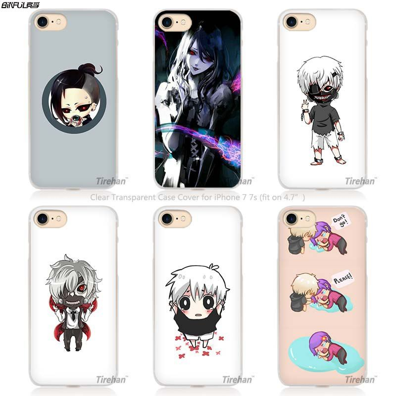 Tokyo Ghoul Hard Transparent Phone Case for iPhone - fandomexpress ...