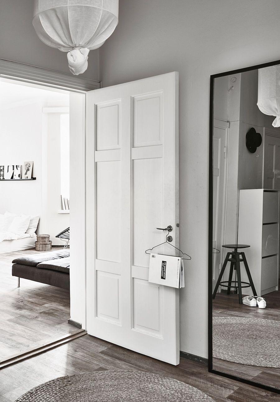 The Monochrome Home Of Finnish Interior Designer Laura
