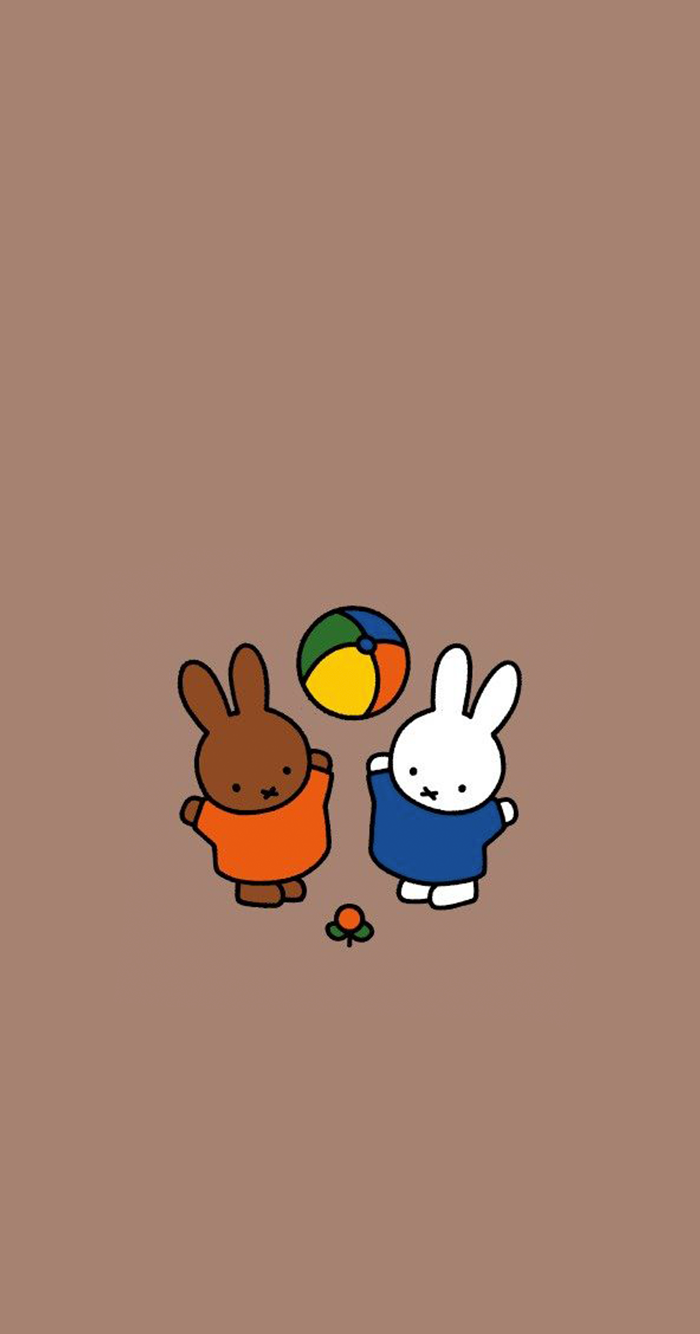 아이폰 귀여운 캐릭터 미피 배경화면 02 네이버 블로그 ミッフィー