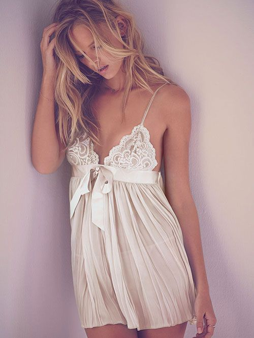 a1d00d6d94a Victoria s Secret Very Sexy Pleated Babydoll    The Best in Bridal Lingerie  and Intimates www.modernwedding.com.au