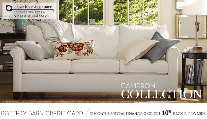 Cool Cameron Sofa Collection Pottery Barn Family Room Sofa Unemploymentrelief Wooden Chair Designs For Living Room Unemploymentrelieforg