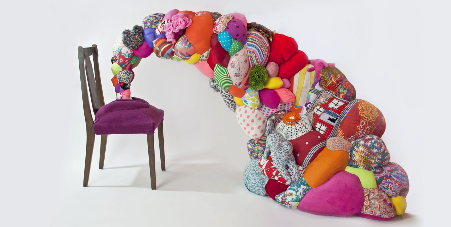 Sculpture Recycled Toys