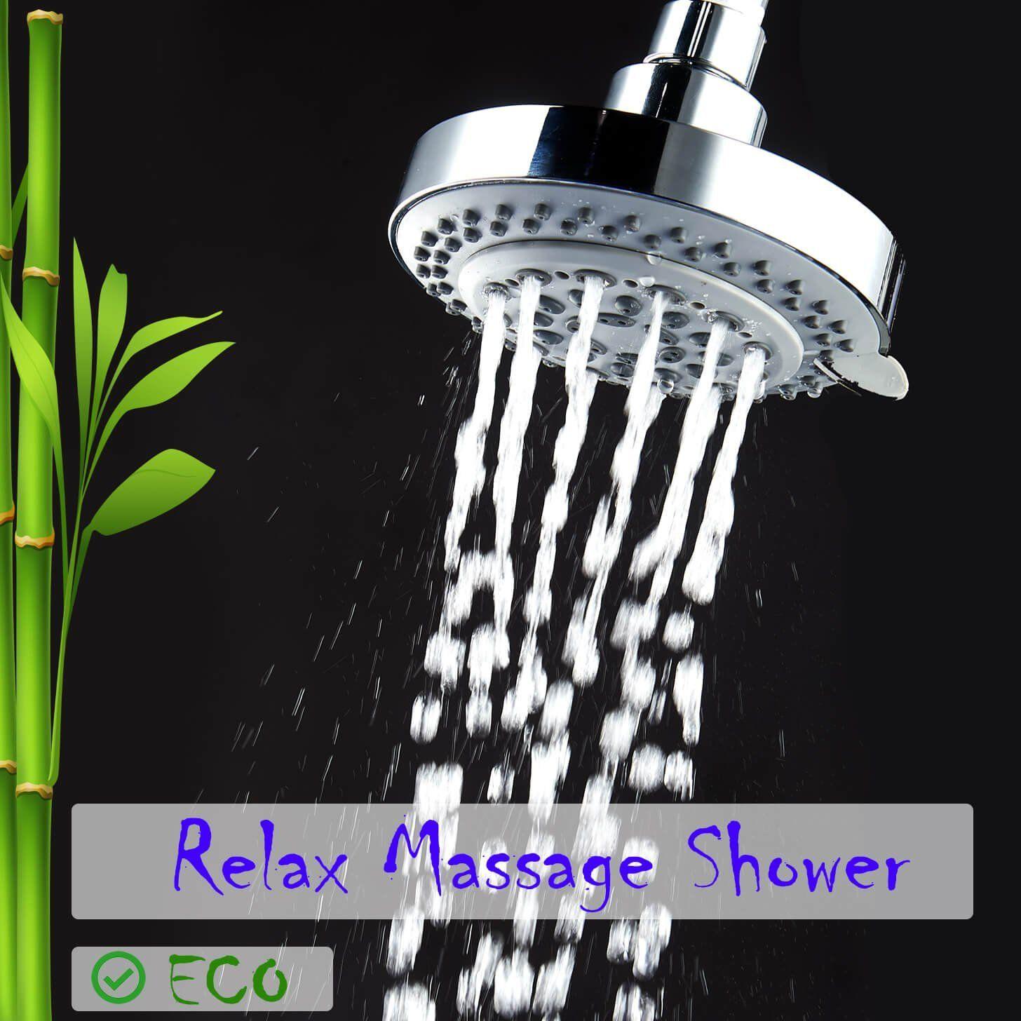 Amazon Com Captaineco 4 Inch 8 Setting High Pressure Shower Head
