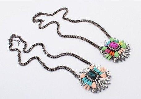 Colorful Pendant Necklaces